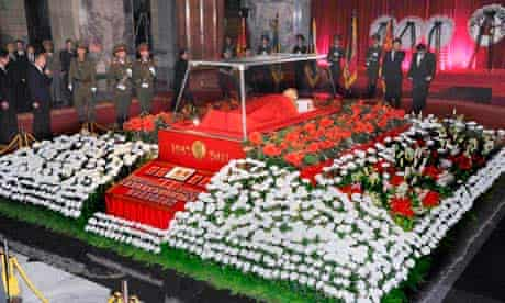 Kim Jong-il's body lies in state