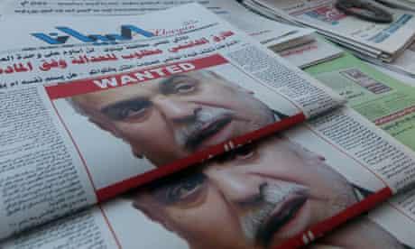 Tareq al-Hashemi in Iraqi newspapers