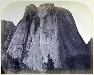 1861 Yosemite expedition: photographs  by Carleton E. Watkins