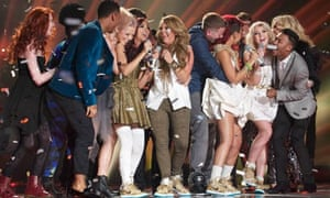 Little Mix winning The X Factor