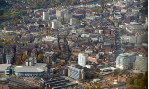 Nottingham aerial
