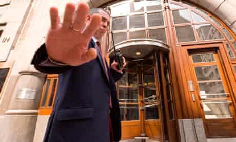 goldman sachs security guard
