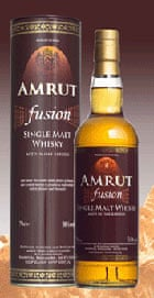 Amrut distillery Fusion whisky