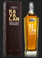 Kavalan whisky from Taiwan