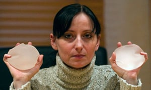 Alexandra Blachere, who heads an association of women with faulty breast implants