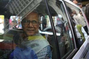 Year in MDG: Nobel prize winner and microfinance pioneer Muhammad Yunus
