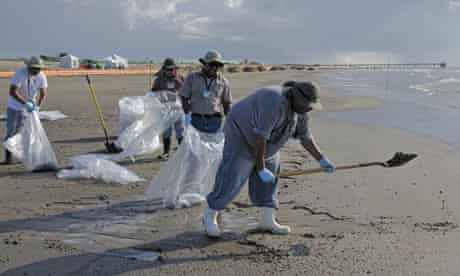 Deepwater cleanup