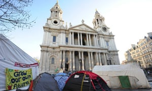 Occupy London camp at St Paul's cathedral