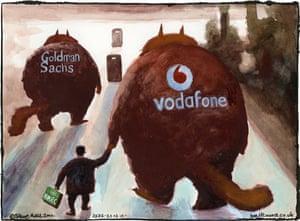 20.12.11: Steve Bell on sweetheart tax deals – cartoon
