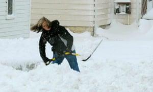 Mid-West snow storm