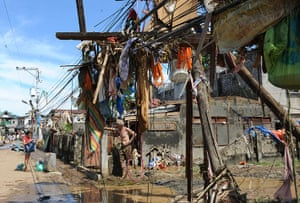 Year in MDG: Floods in Philippines