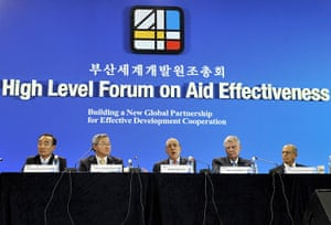 Year in MDG: Busan Aid conference