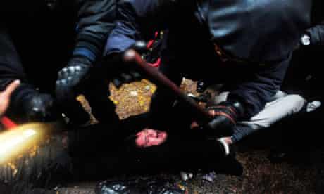 'Occupy Wall Street' Protests, Zuccotti Park, New York, America - 17 Nov 2011