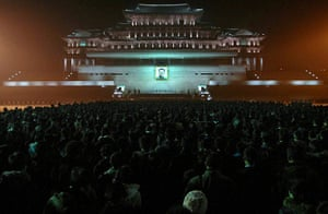 24 hours in pictures: Kim Jong Il mourned in North Korea