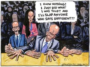 Steve Bell: Ruper Murdoch
