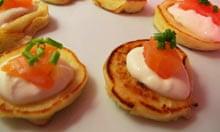 Bertinet recipe blinis