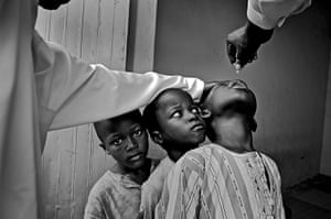 UNICEF Photo of the Year: Third Prize: 'Crippled due to rejection of vaccines' by Mary F. Calvert