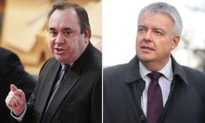 Alex Salmond and Carwyn Jones