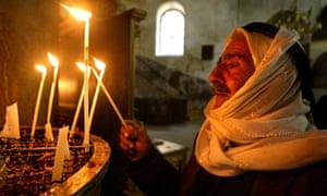 A Christian Palestinian