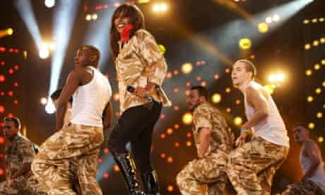 Alexandra Burke performs at the Help The Heroes Concert 2010