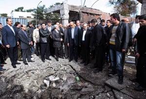 Damascus Suicide Bombing: Deputy Arab League Secretary General Samir Seif al-Yazal