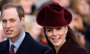 William and Kate in Sandringham