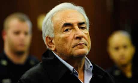 Dominique Strauss-Kahn at Manhattan Criminal Court