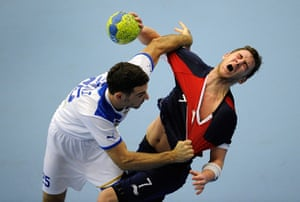 Tom's best of the year: Gb v Israel handball
