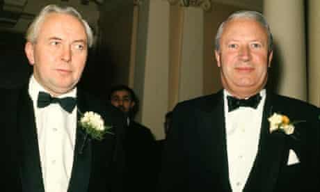 Harold Wilson and Edward Heath