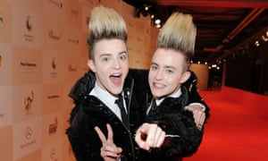 Jedward attend the Tribute to Bambi charity aftershow party in Berlin
