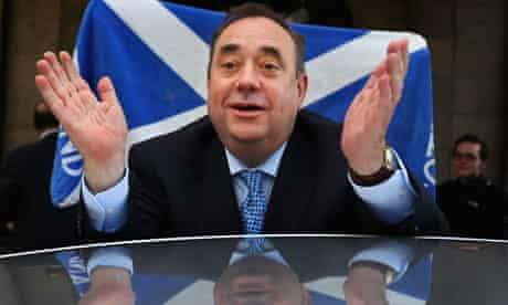 Alex Salmond Retains His Post As First Minister