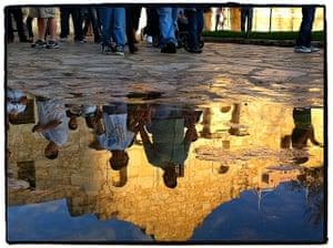 iPhone photos of the year: A reflection of the Alamo Shrine in San Antonio, Texas