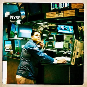 iPhone photos of the year: USA - Economy - Wall Street