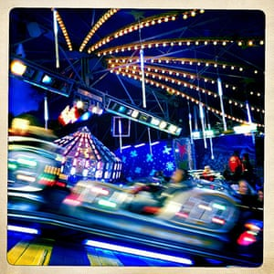 iPhone photos of the year: London, England: Winter Wonderland in Hyde park