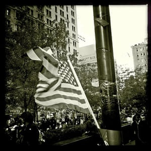 iPhone photos of the year: New York, US: Freedom NYC Occupy protest