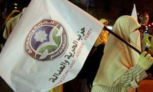 Supporters of Egypt's Muslim Brotherhood