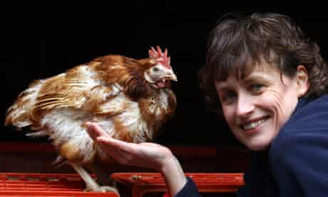 Jane Howorth with Liberty