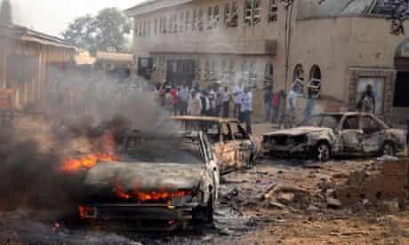 Church bombing in Abuja