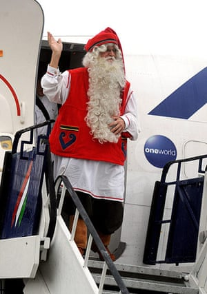 Father Christmas: Santas from around the world