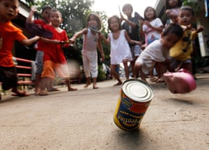 24 hours : Cagayan De Oro City, Phillipines: Filipino children play at a school