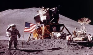 The first moon landing in 1969