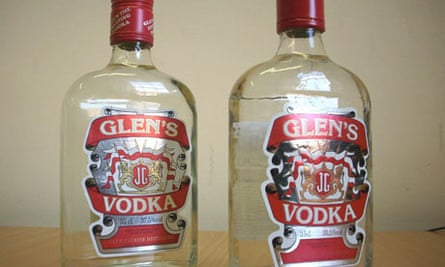 Counterfeit vodka