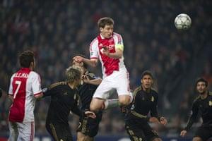 football: Ajax Amsterdam vs Real Madrid