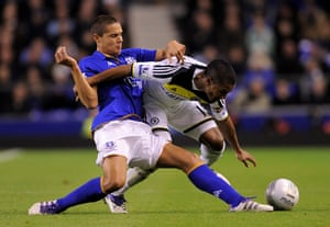football: Everton v Chelsea - Carling Cup Fourth Round