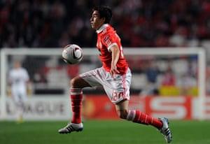 football: Benfica's Argentinian forward Nicolas Ga