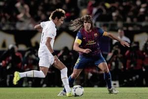 football: Santos v FC Barcelona - FIFA Club World Cup Final
