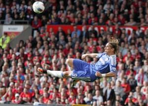 football: Manchester United vs Chelsea