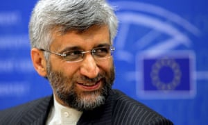 Iran's top nuclear negotiator Saeed Jalili