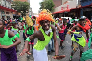 New Year celebrations: South Africa New Year Joburg carnival
