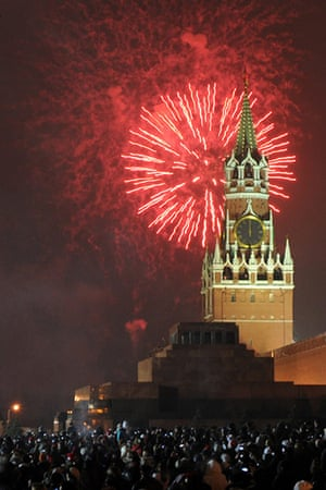 New Year Celebrations: New year in Moscow